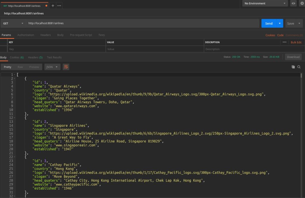 Testing Feign Client in Spring Boot With Postman