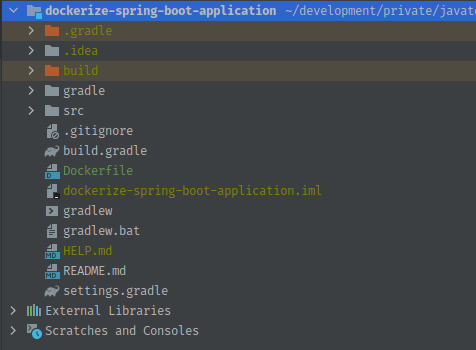 Dockerfile for Spring Boot Application