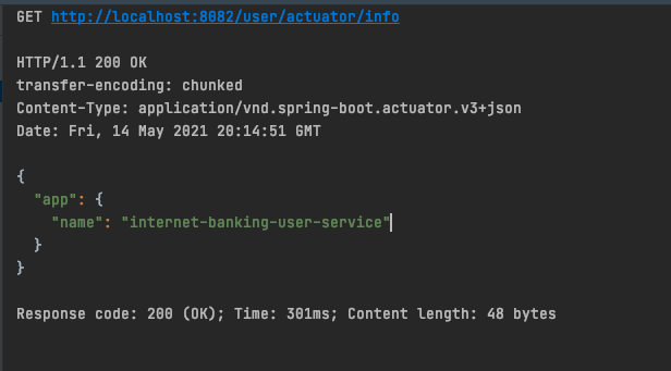 HTTP output from user API call through Spring Cloud Gateway